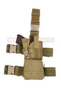 COMBAT2000 Molle 雷霆通用腿部枪套,Cordura
