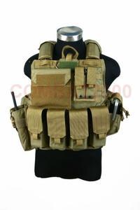 COMBAT2000 可拆卸组合式防弹背心 陆战队款 中码,Cordura